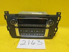 Cadillac Dts A/V Equipment Am-mono-Fm-stereo-6 Cd player-Mp3 (opt Us9)