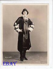 Pola Negri dressed by   Jean Patou VINTAGE Photo