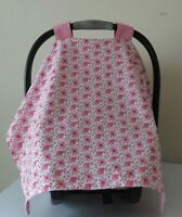 Hello Kitty canopy /& hot pink minky infant car seat cover//Graco/&custom size