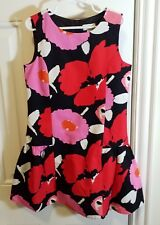 The Children Place MultiColor Special Occasion Lined Floral S/Less Dress Sz6X/7
