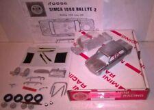 MINI RACING KIT 1/43 - K0056 SIMCA 1000 Rallye 2 rare
