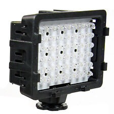 NANGUANG LED Videoleuchte 48 LEDs Videolicht Kameralicht Kopflicht Light Panel