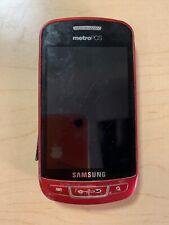 Samsung Admire SCH-R720 - Red (MetroPCS) Smartphone FOR PARTS