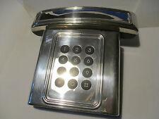 Telefono fisso rivestito in argento. Telephone clad in silver 925