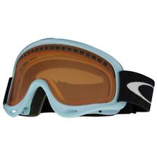 Oakley 02-445 O Frame Light Powder Blue w/ Persimmon Lens Unisex Snow Goggles .