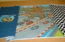 Jersey Porsche Panel Wimmelbuch schwarz weiß  blau    58x150 cm