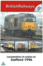 Locomotives in action at Stafford 1996 | West Coast Main Line | Railway DVD