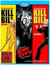 Kill Bill 1 + 2 + Sin City Collection                            | Blu-ray | 395