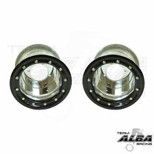 Honda TRX 450R 400EX  Rear Wheels  Beadlock 9x8  5+3  4/110  Alba   SB