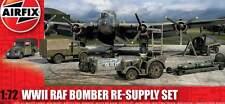 Airfix RAF Bowser Bedford MWC MWD Tractor Flugfeld Tankwagen Bomben 1:72 Set kit