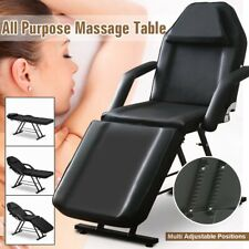 Salon Barber Chair Tattoo Chairs Massage Table Folding Facial Bed Beauty Black