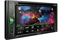 """NEW Pioneer 2 Din AVH-201EX DVD/MP3/CD Player 6.2"""" Touchscreen Bluetooth Remote"""