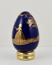Franklin Mint Treasury of Eggs Collectors Egg With Stand ~ Limoges Style