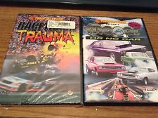 THROTTLETV.COM PRESENTS MOPAR OR NO CAR DVD PLUS RACETRACK TRAUMA DVD -2 DVD LOT