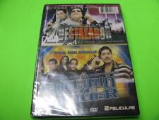 NEW, SEALED ~ EL DESTAZADOR & DELIRIO DEL PODER ~ 2 PELICULAS (DVD)