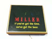 Miller High Life beer sign motion bouncing ball bounce lighted bar light tap HL5