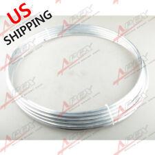 "3/8"" (9.5mm) OD Aluminum Hard Line 25 Foot (7.6m) Roll Fuel /Oil /Water /E85 US"