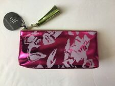 elf X Christian Siriano Cosmetic Small Pink Makeup Bag