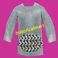 Chainmail 10 mm flat riveted with washer hubergion half sleeve large size shirt