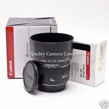 Canon EF 50mm f/1.4 USM+ES-71 II Hood - PRISTINE OPTICS SUPERIOR COSMETICS - EX!