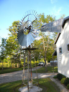 Heller Aller Windmill  8ft Eccentric Direct Stroke w/ tower
