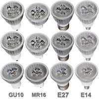 Ultra Bright Dimmable MR16/GU10/E27/E14 9W 12W 15W LED Spotlight Bulbs CREE RK