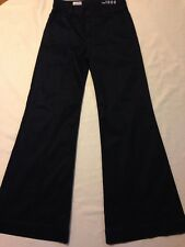Gap 1969 Trouser Pintuck Flare Blue Jeans women's size 6 (Waist 30 inseam 32.5)