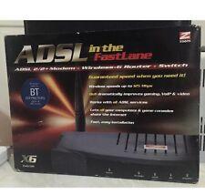 Zoom 5590 ADSL X6 125Mbps Wireless-G Modem Gateway/Router/Firewall/Switch +
