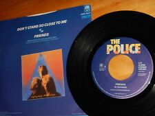"""THE POLICE, """"Don't Stand So Close To Me"""" / """"Friends""""  45rpm + Picture Sleeve"""