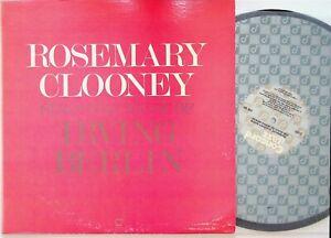Rosemary Clooney – Sings The Music Of Irving Berlin LP Vinyl EX+ (Best Songs)