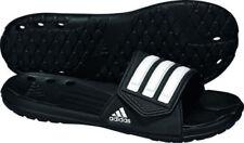 Sandali e scarpe nere adidas con a strappo per il mare da uomo