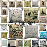 """NEW Luxury Tapestry Classic Vintage Print Cushion Covers 45x45cm 18""""x18"""""""