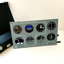 More details for vintage pilot training aircraft cockpit instrument panel sim board alan bramson