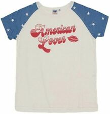 Junk Food Women's American Lover Short Sleeve Raglan T-Shirt - SIZE M
