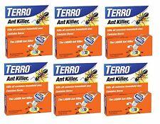 6 New! 1oz TERRO Ant Killer II Liquid Insect Pest Control BORAX Indoor Bait T100