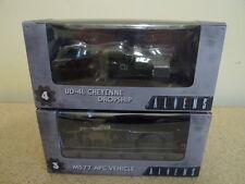Neca Alien Cinemachines Series 1 APC Vehicle & Cheyenne Dropship from Aliens BN