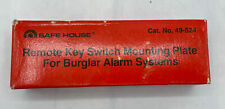 Safe House remote key switch mounting plate 49-524 NOS