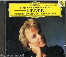 Wolf, Mahler: Lieder / Anne Sofie Von Otter, Ralf Gothoni - CD