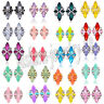 1 Pair Fashion Elegant Lady Crystal Rhinestone Ear Stud Women's Earrings Jewelry