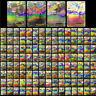 New 100 Pcs Pokemon TCG Flash Cards LOT RARE 20 MEGA+80 EX CARDS NO REPEAT Gift