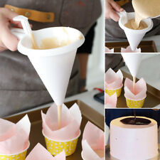 Adjustable Chocolate Funnel for Baking Cake Decorating Tools Kitchen White