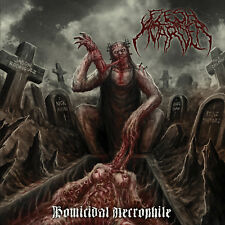 "FLESH HOARDER ""Homicidal Necrophile"" death metal CD"