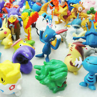 24PCS Cute Lots 2-3cm Pokemon Pikachu Mini Random Pearl ct Figures Toy Kids Gift