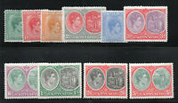 Saint Kitts-Nevis / SG# 68 - 77 MH (rem)   -   Lot 0120136