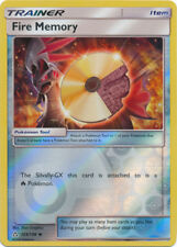 Pokemon Cards Fire Memory Trainer Ultra Prism Reverse Holo 123/156 NM