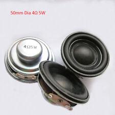 1pcs 50mm 4Ω 5W Internal Magnet Horn Bass Multimedia Speaker  Loudspeaker Audio