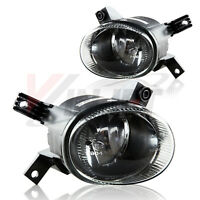 For 05-08 Audi A3 B7 A4 S4 Driver + Passenger Side Fog Light Lamp Assembly Pair