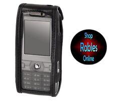 Tasche Case für Sony Ericsson K800i K810i K790i HAMA Leder Black Origina NEU OVP