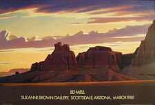 Ed Mell Assortment of 3 Southwest Posters