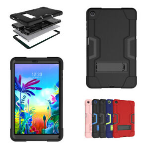 Case For LG G Pad 5 10.1 inch Shockproof Heavy Duty Full Body Armor Rubber Cover